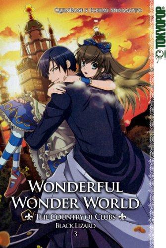 Wonderful Wonder World - The Country of Clubs: Black Lizard, Band 3