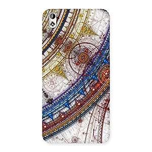 Ajay Enterprises Sonarp Multicolor Back Case Cover for HTC Desire 816g