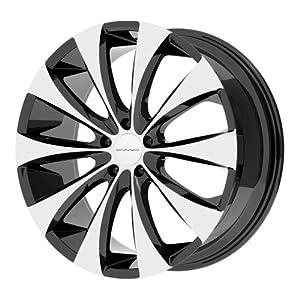"KMX Wheels KM679 Wheel with Gloss Black Machined (18x8""/5x114.3mm)"