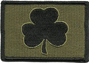 Subdued Irish Tactical Patch (Olive Drab)