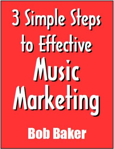 3 Simple Steps to Effective Music Marketing (TheBuzzFactor.com presents)