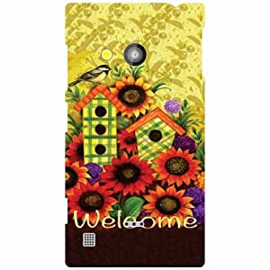 Nokia Lumia 720 Back Cover - Welcome Designer Cases