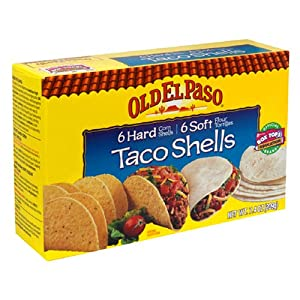 Amazon.com : Old El Paso Hard and Soft Taco Shells, 7.4-Ounce Boxes