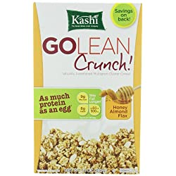 Funny product Kashi GOLEAN Crunch! Cereal, Honey Almond Flax, 14-Ounce Boxes (Pack of 4)