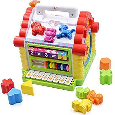 TOYK Musical Toys Colorful Baby Fun House Many Kinds Of Music Electronic Geometric Blocks Learning Educational Toys by TOYK China that we recomend individually.