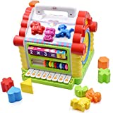 TOYK Musical Toys Colorful Baby Fun House Many Kinds Of Music Electronic Geometric Blocks Learning Educational Toys