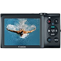 Canon PowerShot A2400 IS 16.0 MP Digital Camera with 5x Optical Image Stabilized Zoom 24mm Wide-Angle Lens with 720p Full HD Video Recording and 3.2-Inch Touch Panel LCD from Canon