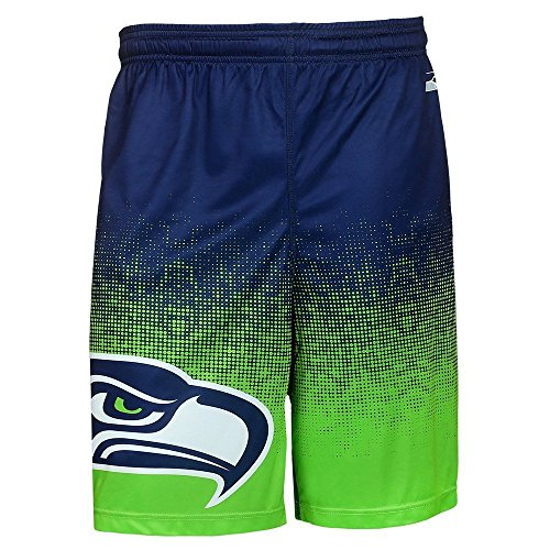 NFL-Mens-Gradient-Polyester-Shorts