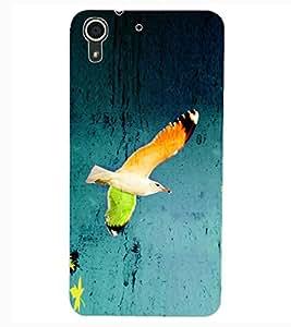 ColourCraft Beautiful Bird Design Back Case Cover for HTC DESIRE 626