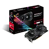 ASUS ROG STRIX Radeon Rx 470 8GB OC Edition AMD Graphics Card with DP 1.4 HDMI 2.0 STRIX-RX470-O8G-GAMING