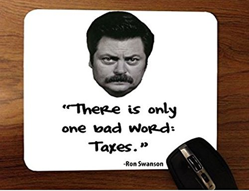 ron-swanson-taxes-parks-recreation-desktop-mouse-pad-by-debbies-designs