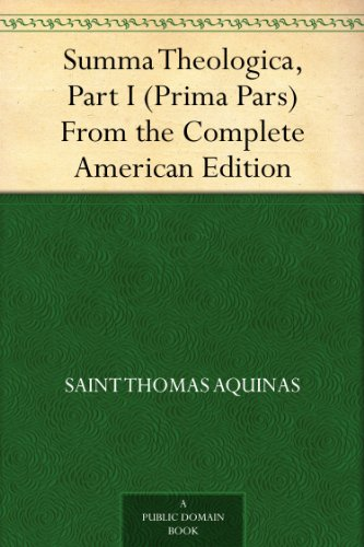 an analysis of the summa theologica by thomas aquinas Thomas aquinas stands among the  study the summa theologica with both the original latin text  the angelic doctor suggests a more developed analysis of.