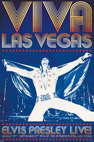 Elvis Viva Las Vegas (EPE) Music Poster
