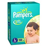 Pampers Large Size Diapers (18 Count)