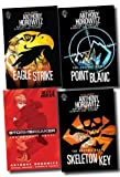 Anthony Horowitz Alex Rider Graphic Novels Collection Anthony Horowitz 4 Books Set (Eagle Strike, Skeleton Key, Point Blanc, Stormbreaker)