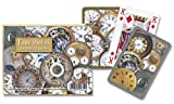 Toy - Piatnik Time Pieces playing cards (twin deck)
