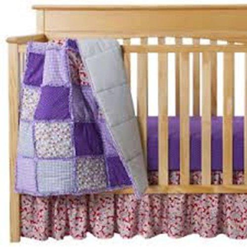 Paisley Crib Bedding Sets 6574 front