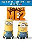 Despicable Me 2 (Blu-ray 3D + Blu-ray + DVD + Digital Copy + UltraViolet)