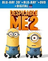 Despicable Me 2 (Blu-ray 3D + Blu-ray + DVD + Digital Copy + UltraViolet)