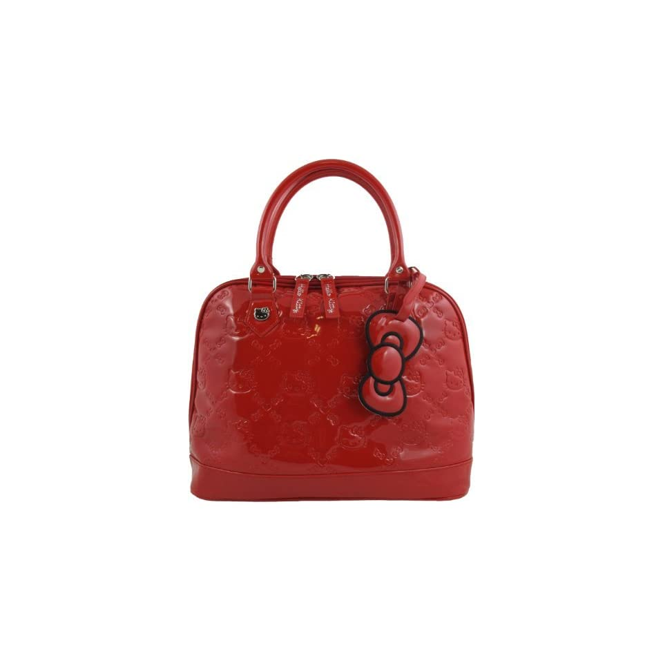 Hello Kitty Red Patent Embossed Overnight Bag Shoes on PopScreen c2d4e558796a4