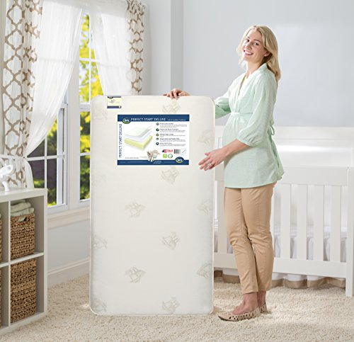 Serta Perfect Nature Crib and Toddler Mattress
