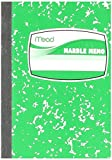 Mead Square Deal Memo Book, Narrow Ruled, 80 Sheets, Assorted Colors (45417)