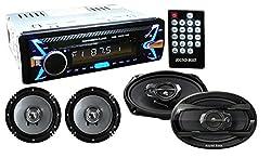 SoundBoss DETACHABLE Car Stereo Fm Mp3 Usb Sd Aux-in +, 6