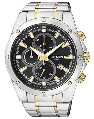 Cronógrafo Hombre Reloj de pulsera reloj de hombre Citizen Basic an3534-51E