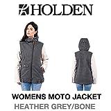 HOLDEN ホールデン ウェア レディース WOMENS MOTO JACKET モト M HEATHER_GREY/BONE