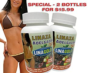 Linaza Adelgazante Flaxseed Slimming Dietary Supplement Capsules