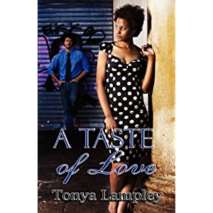 African American book review for A Taste of Love by Tanya Lampley
