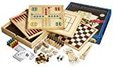 Philos 9960 - Holz-Spielesammlung mit 10 Spielmöglichkeiten hergestellt von Philos-Spiele