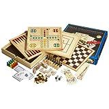 """Philos 9960 - Holz-Spielesammlung mit 10 Spielm�glichkeitenvon """"Philos Spiele"""""""