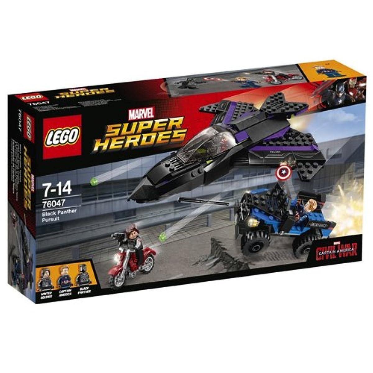 [해외] 레고 (LEGO) 슈퍼히어로즈 블랙팬서의 추적 76047-76047 (2016-03-04)