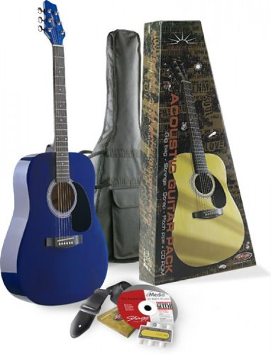 Stagg Sw201 3/4Tb P2 Acoustic Package With 3/4 Model And Lesson Cd