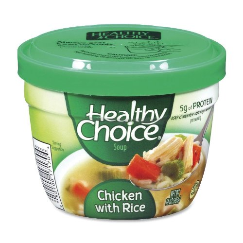 Soup Cups, Chicken With Rice, 14 Oz., 12/Ct