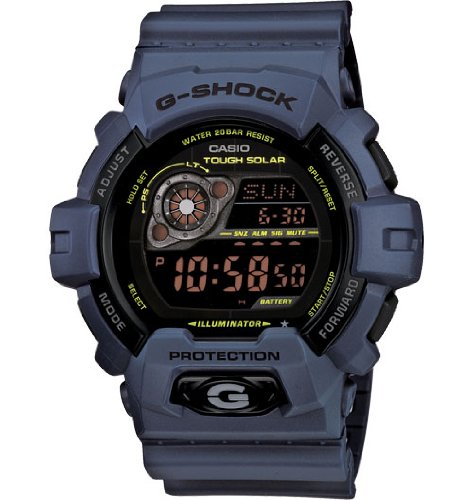 Casio Men's GR8900NV-2 G-Shock Tough Solar Power Military Navy Digital Watch