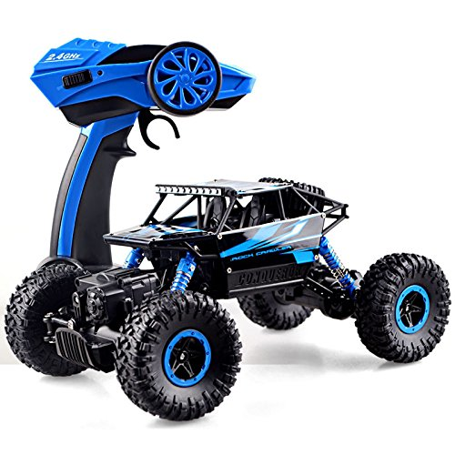 2.4Ghz Remote control RC Rock Crawler 4WD Monster Car Truck Off-Road Vehicle Toy (Rc Monster Truck With Camera compare prices)