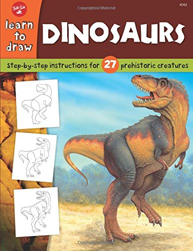 Dinosaurs: Step-by-step instructions for 27 prehistoric creatures (Learn to Draw) (Draw Dinosaurs compare prices)