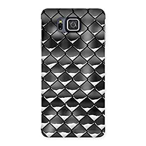Enticing Cage Snow Back Case Cover for Galaxy Alpha