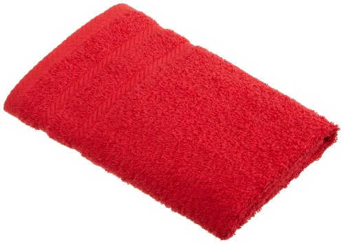 Martex 100Percent Egyptian Cotton Loops Hand Towel, Engine Red Picture
