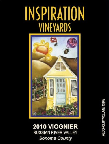 2010 Inspiration Vineyards Viognie Russian River Valley 750 Ml