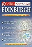 echange, troc Atlas Collin's - Atlas routiers : Colour Street Atlas - Edinburgh (en anglais)