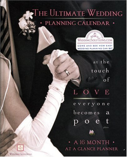 the ultimate wedding planning calendar a 16 month organizer for brides