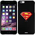 Superman - Emblem Beveled design on a Black<BR>iPhone 6 Plus Thinshield Snap-On Case