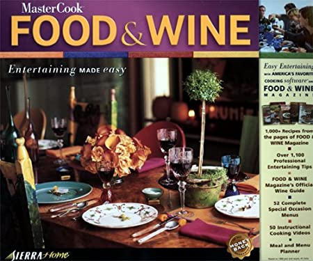 MasterCook 5.0: Food & Wine