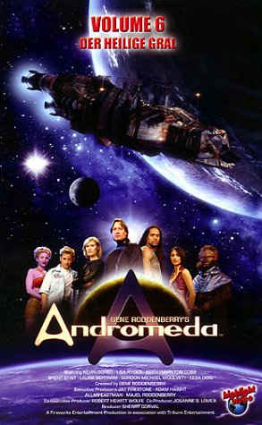 Andromeda Vol. 1.06: Der heilige Gral/Genie an Bord [VHS]