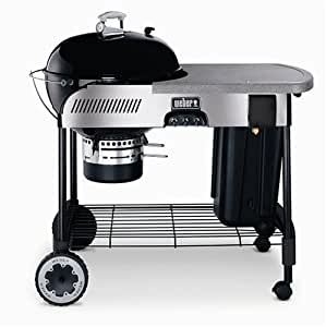Weber 841001 22.5-Inch Performer Charcoal Grill with Touch-N-Go Propane Ignition, Black (Discontinued by Manufacturer)