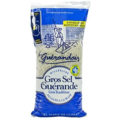 French coarse sea salt from Guerande Le Guerandais-gros sel de Guerande - 1000 gr