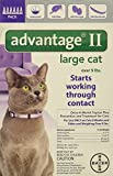 Advantage Bayer II, Cat, over 9 lbs, 6pk